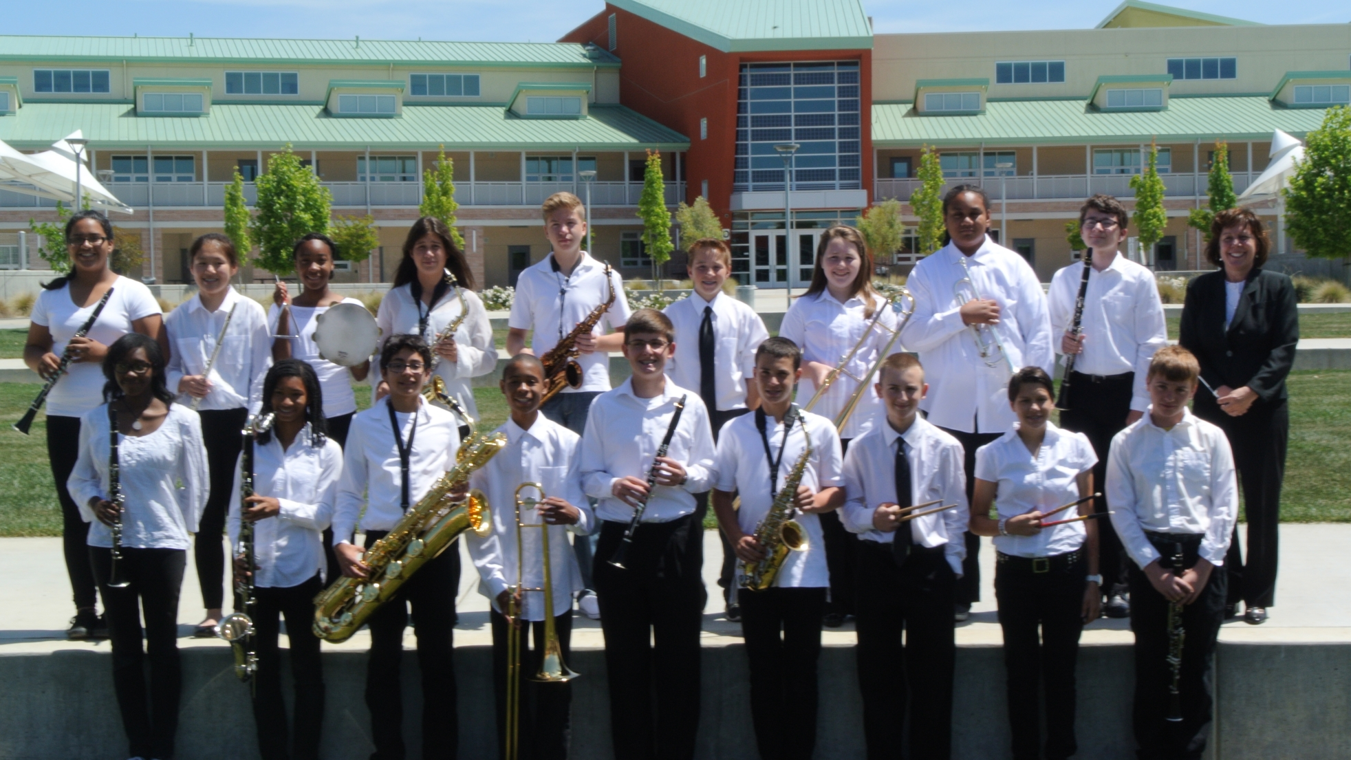 CRMS Concert Band takes 1st place at Music In The Parks on May 3rd